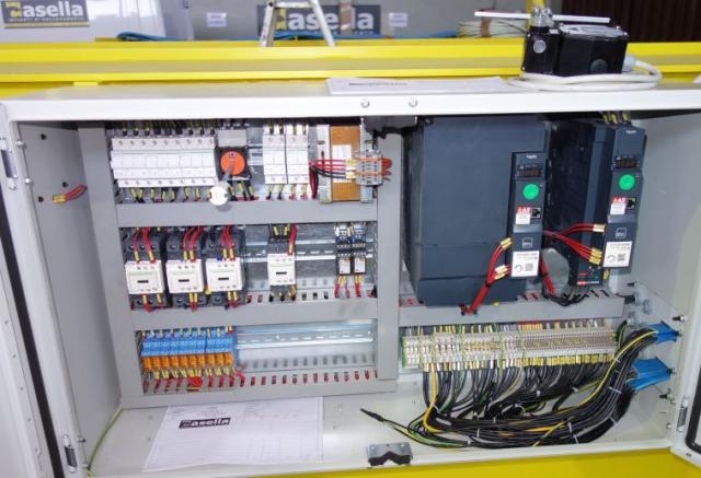 Schemi Cablaggi Elettrici : Impianti elettrici carroponte torino casella carriponte