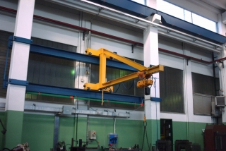 Jib Cranes: Column Jib Crane and Wall Mounted Jib Crane
